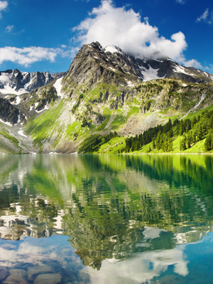 Fototapeta Góry i jeziora