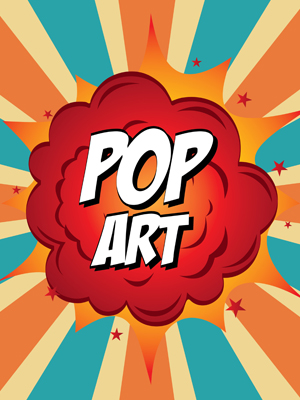 Fototapeta Pop art